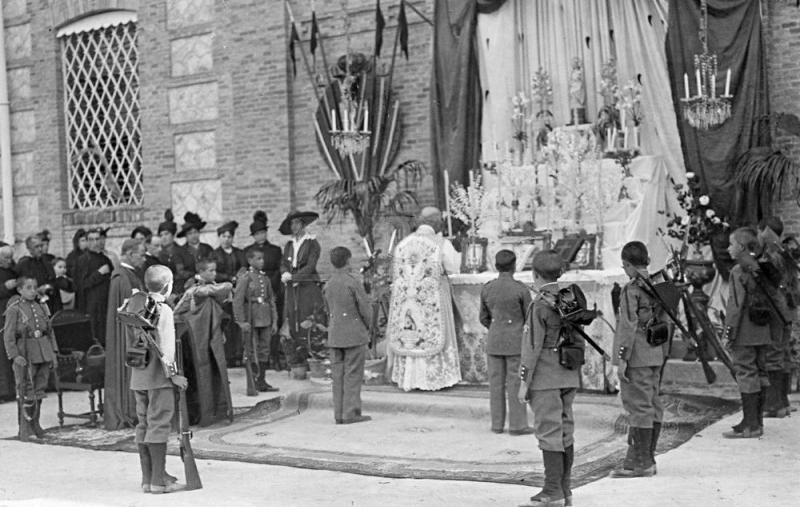 1916 LAS FIESTAS DEL PILAR EN VALDEMORO